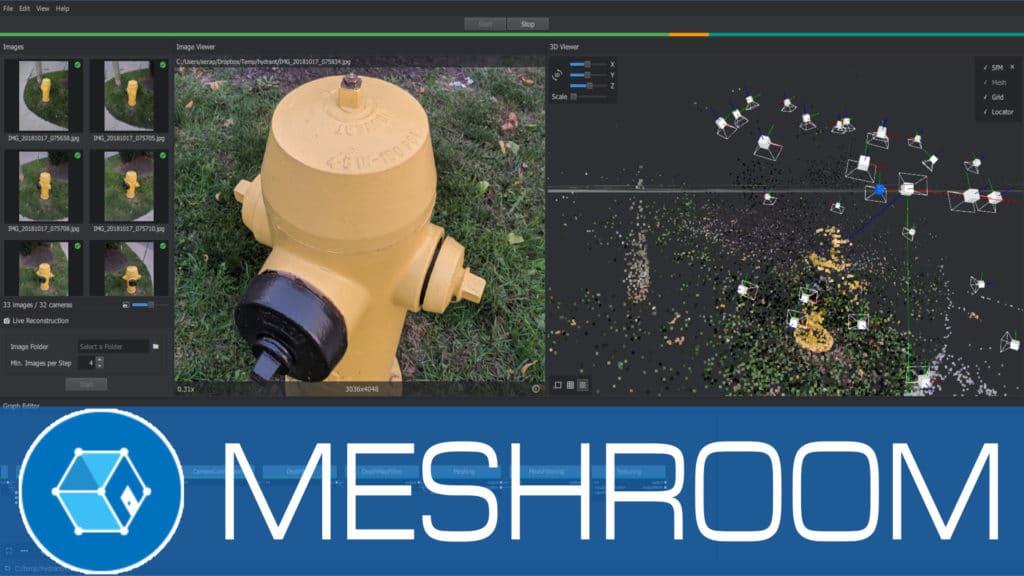 Meshroom 3D Scanning Software