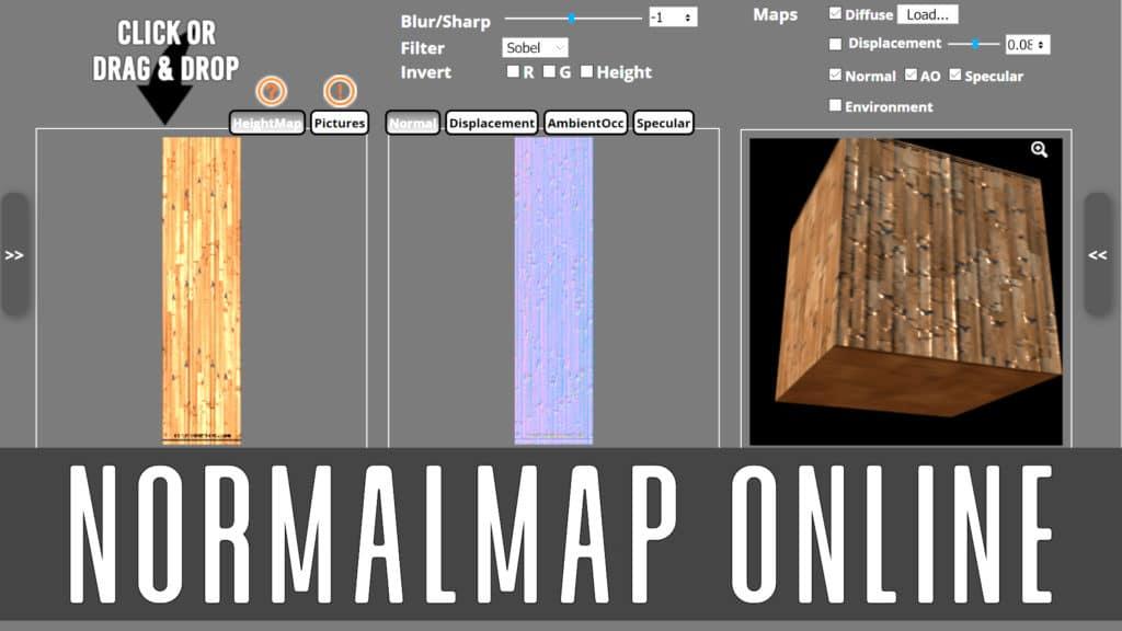 Normal Map Online Tool