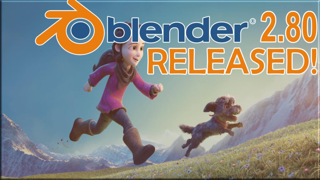 Blender 2.80 Released