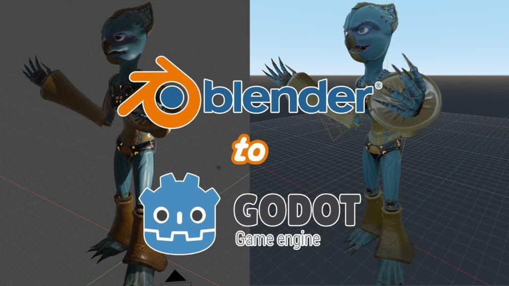 Blender to Godot Banner