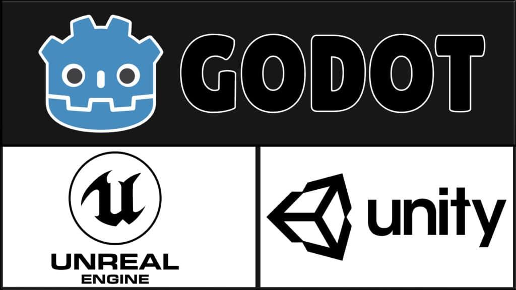 Godot vs Unity vs Unreal