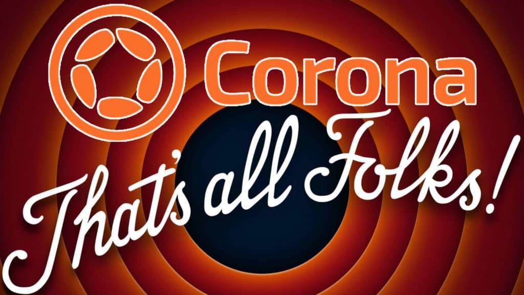 Corona Labs Shutting Down