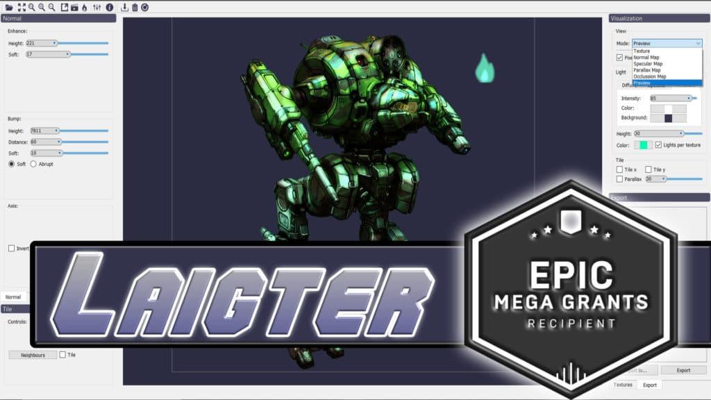 Laigter Wins Epic MegaGrant