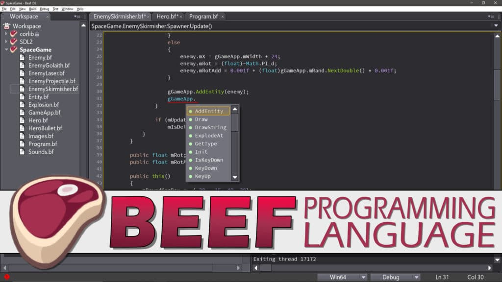 Beef Programming Language
