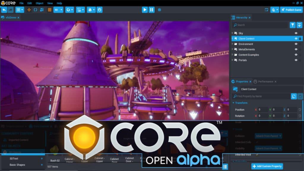 Core Open Alpha Release