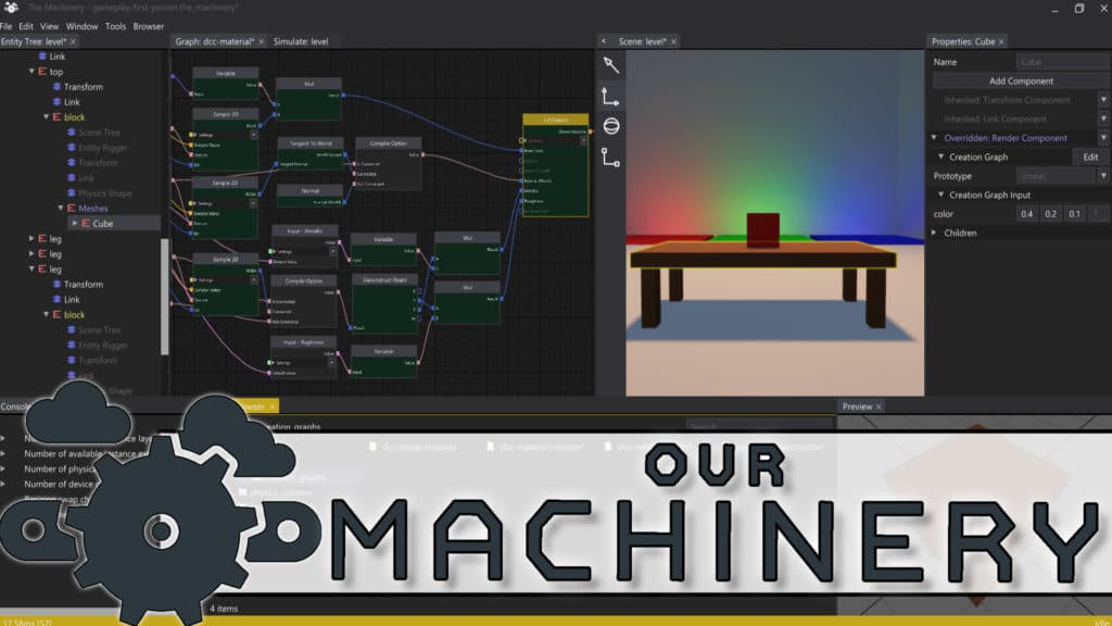 The Machinery Game Engine Reviewed
