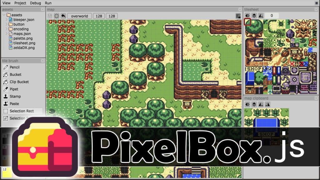 PixelBox 2D JavaScript Game Engine