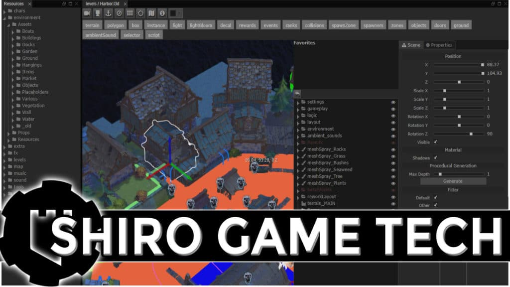 Shiro's Open Source Haxe Game Development Stack
