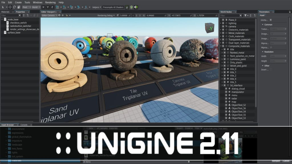 Unigine 2.11 Released