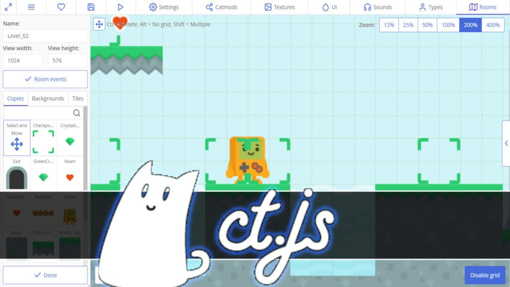 ct.js HTML5 Game Engine