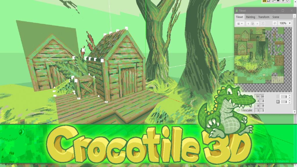 Crocotile Tile Based 3D Map Editor