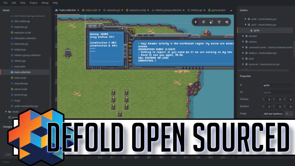 Defold Engine Open Sourced