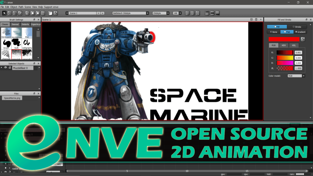 ENVE Animation Software
