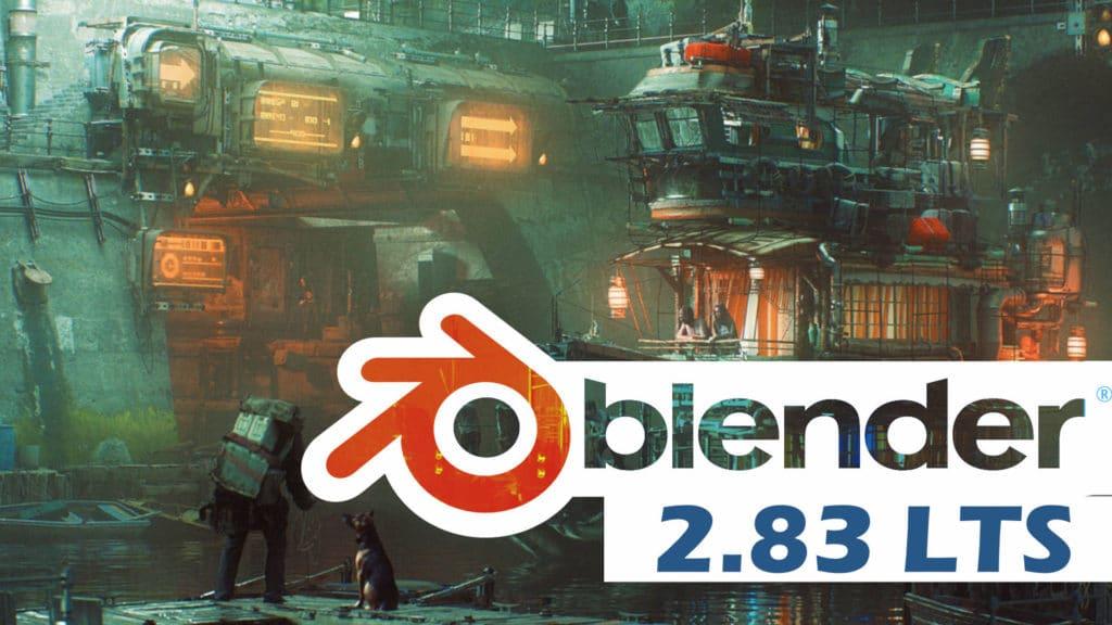 Blender 2.83 LTS Released