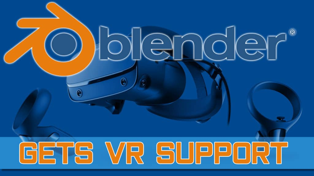 Blender VR Support