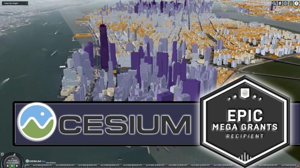 Cesium Wins Epic MegaGrant