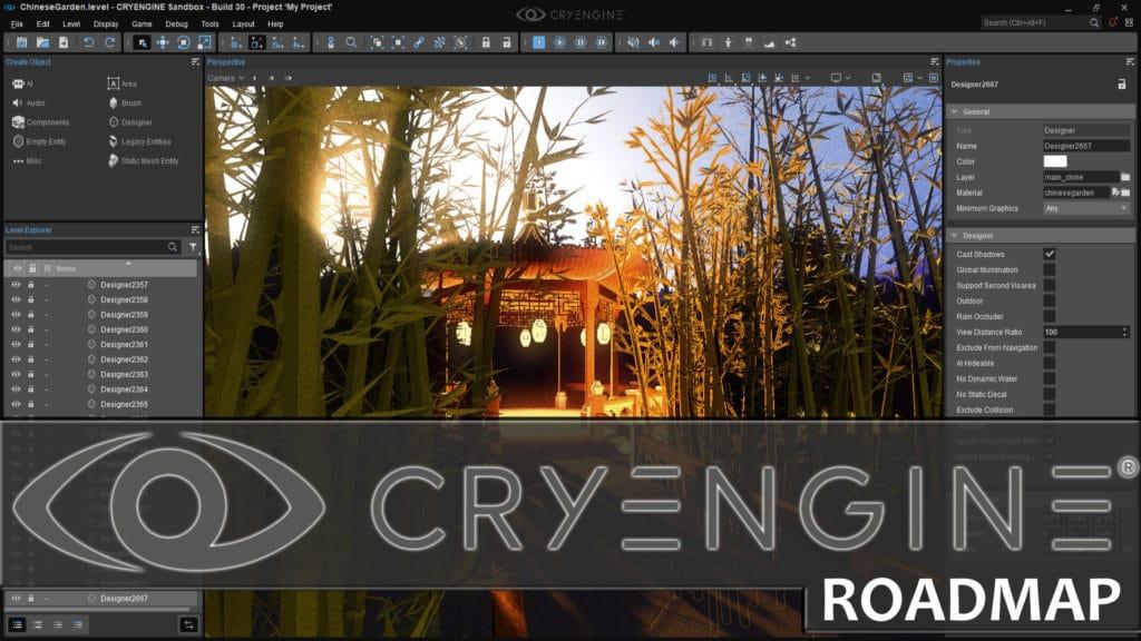 CryEngine Release 2020 RoadMap