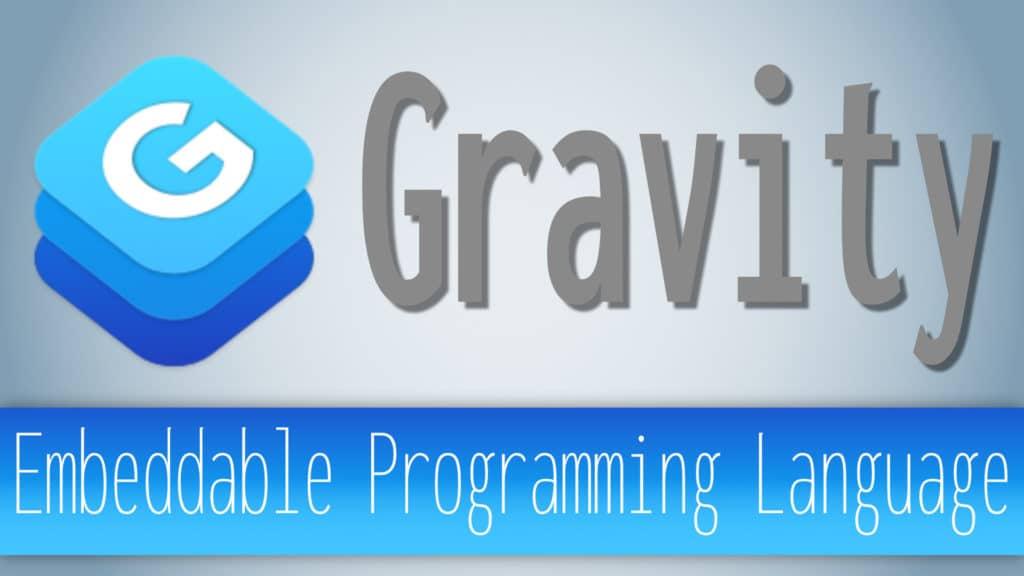 Gravity Programming Language