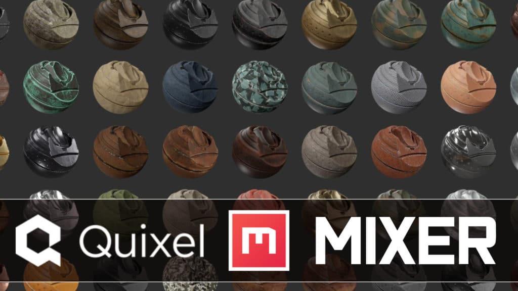 Quixel Mixer 2020.1 Released
