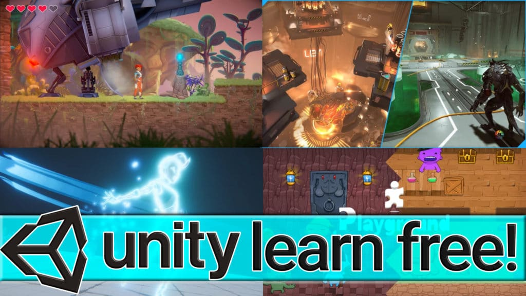 Unity Learn Premium Now Free Forever