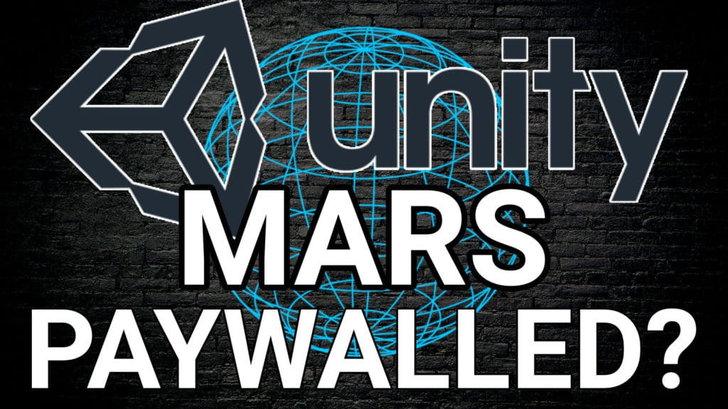 Unity MARS AR Paywalled