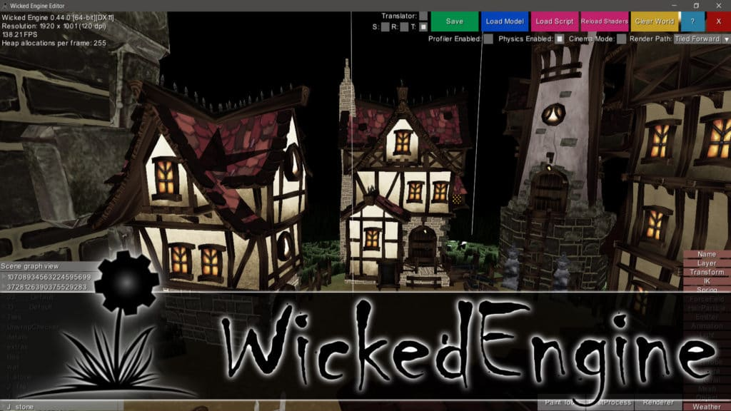 Wicked Engine Adds Vulkan and Direct3D 12 Support