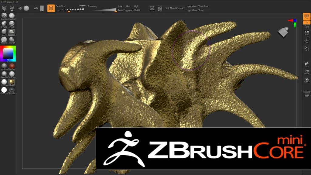 ZBRush Core Mini Released