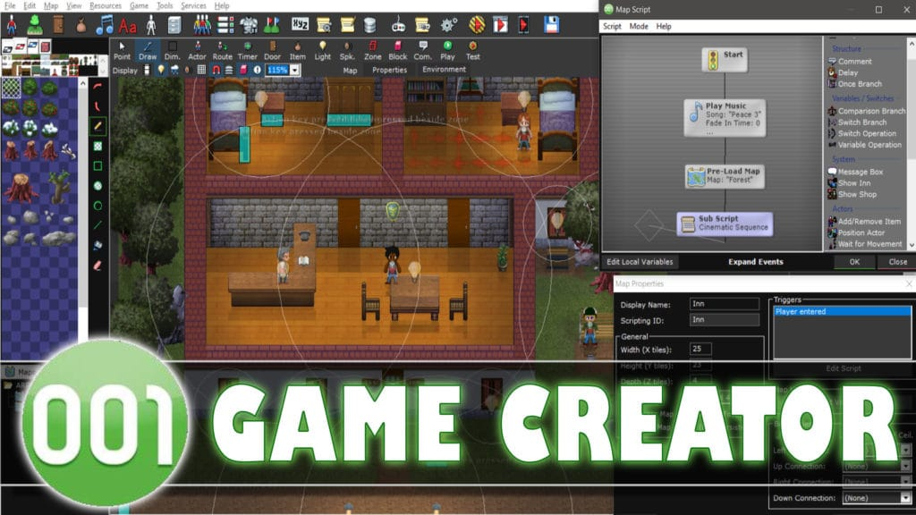 001 Game Creator Game Engine Review