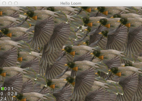 A Flock of Robins