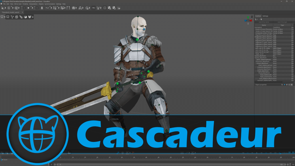 Cascadeur Physics Animation Review
