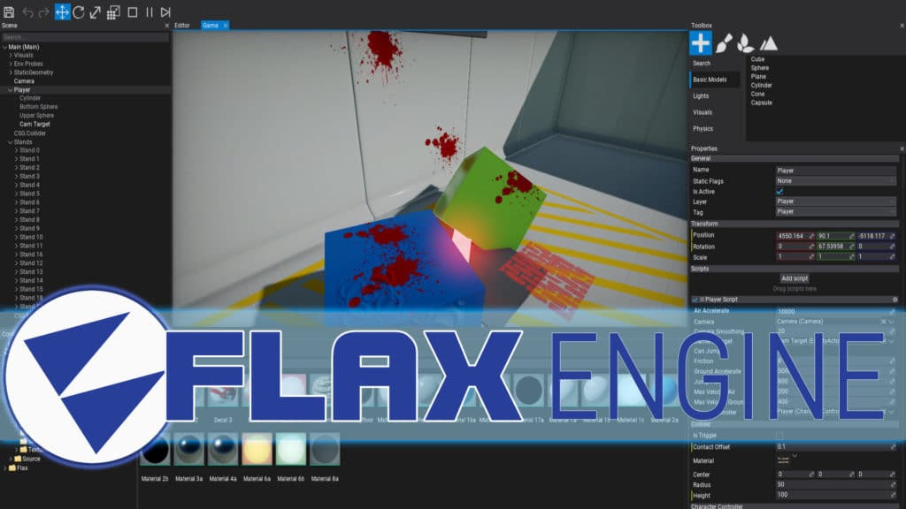 FlaxEngine 0.7 Released