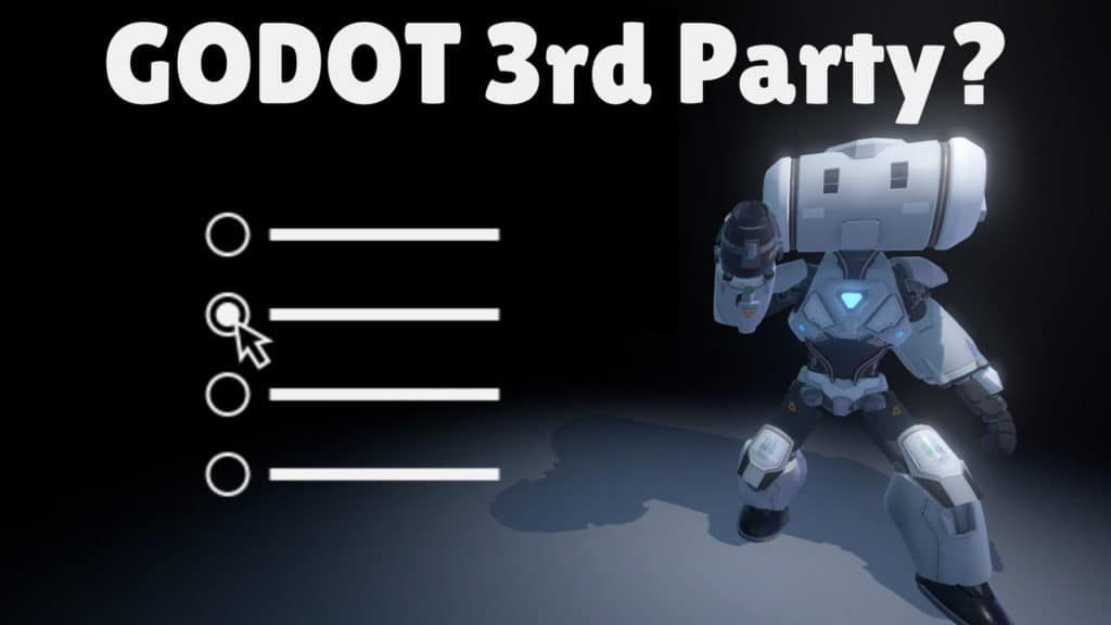 Godot Hold Poll on 3rd Party Vendor Relationships