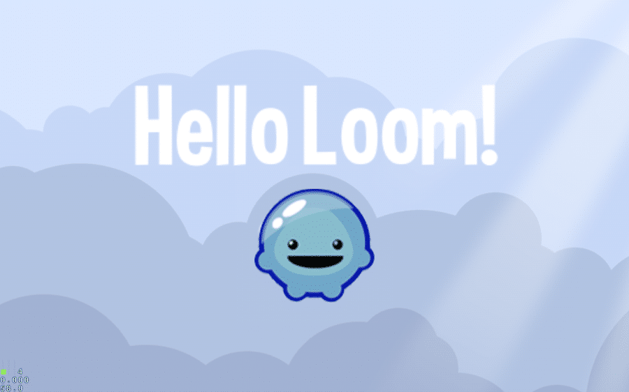 Hello Loom running on Android