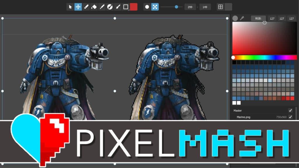 PixelMash Graphics Editor Review