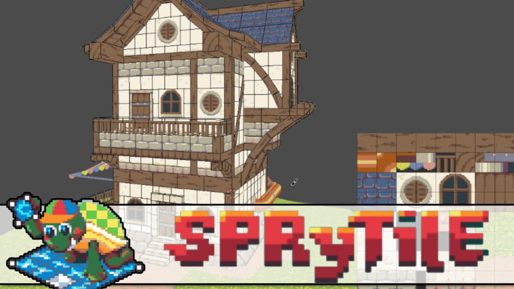 SpryTile Map Editor For Blender