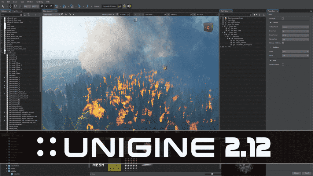 Unigine 2.12 Released