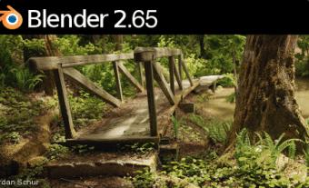 Blender 2.65 splash