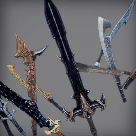 Inifinity Blade: Weapons