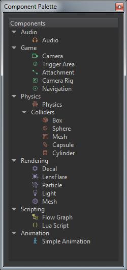 Component Palette