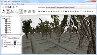 generated trees