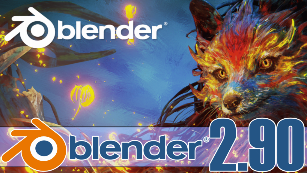 Blender 2.90 was released