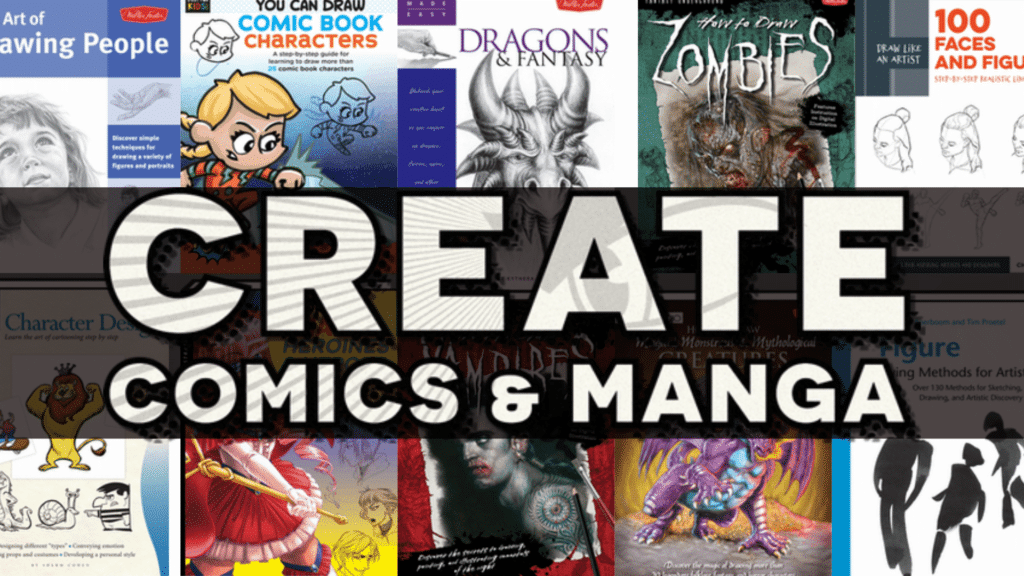 Create Comics and Manga Bundle