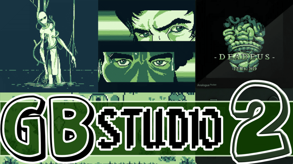 GB Studio 2 Beta Released Powerful GameBoy ROM Engine