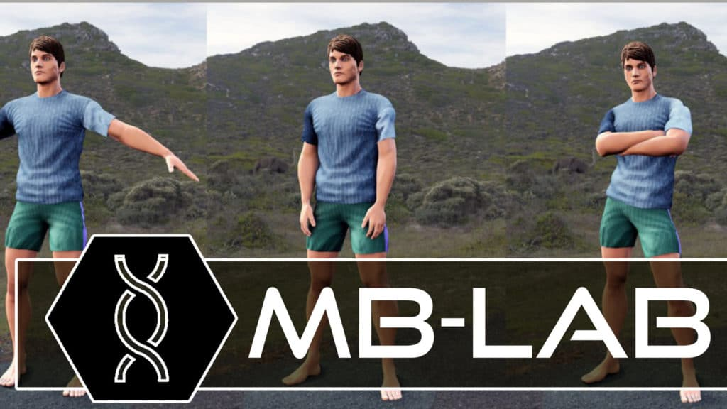 MB-Lab character creator for Blender