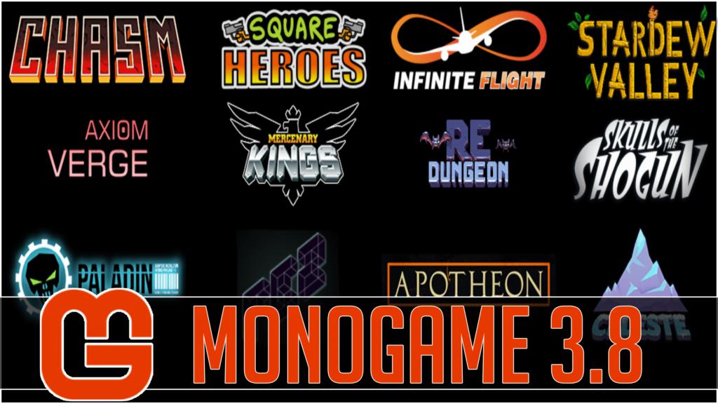 Monogame 3.8 released