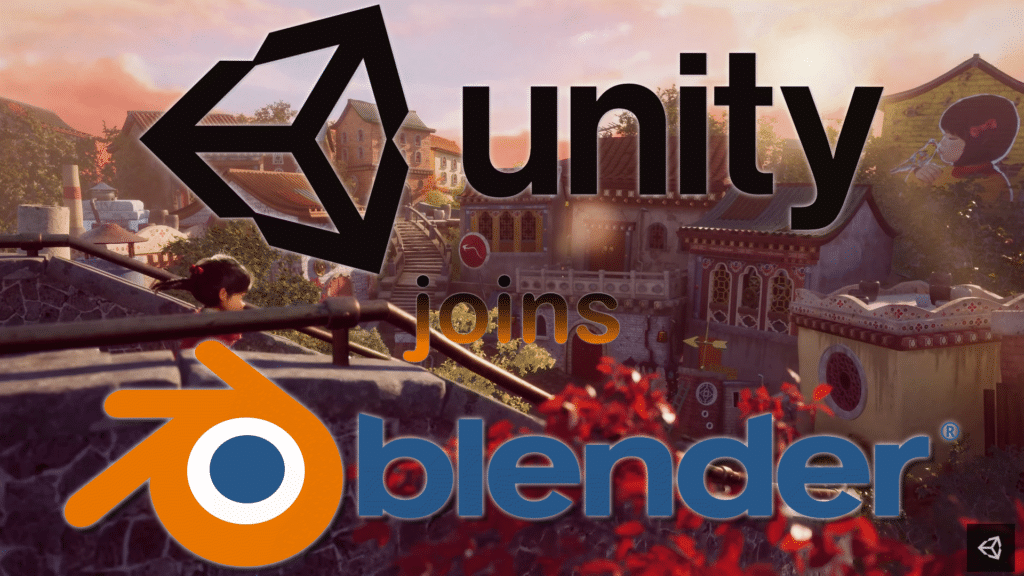 Unity Joins the Blender Development Fund