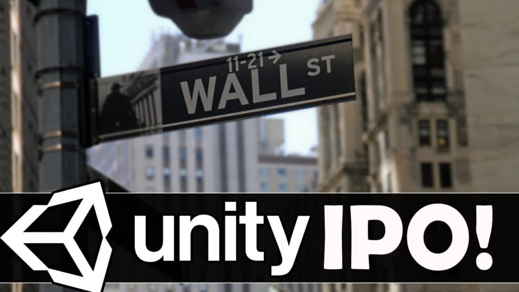 Unity File S1 Paperwork with SEC in IPO