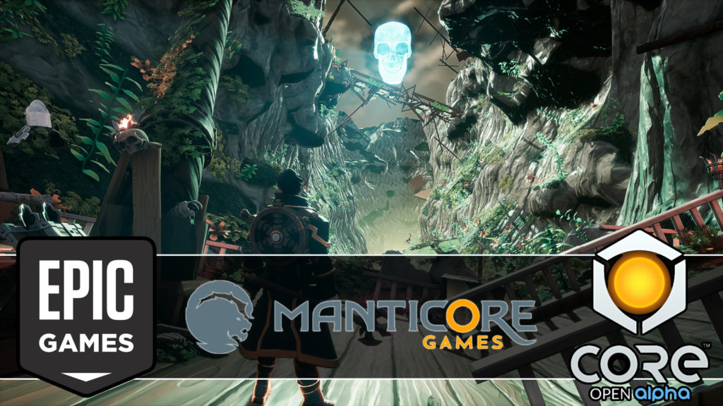 Epic Games Lead 15M Investment in Core Maker Manticore Games