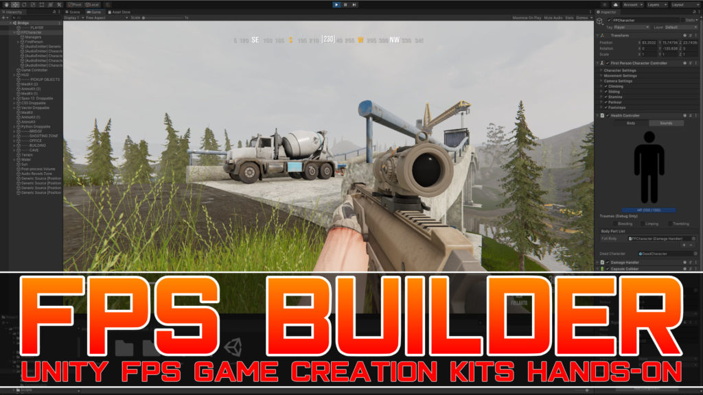 FPS Builder for Unity Hands-On Review