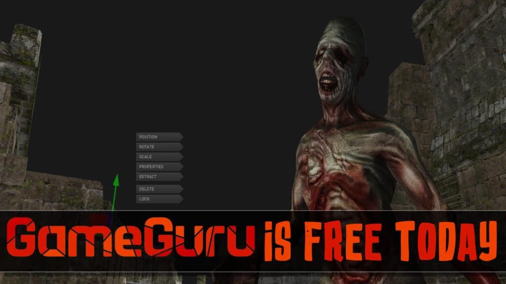 GameGuru 3D game engine is currently free